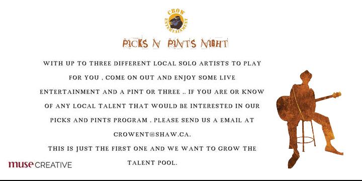 Picks N' Pints Night