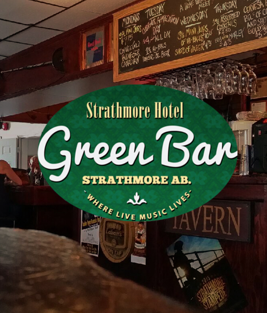 Strathmore Hotel Green Bar